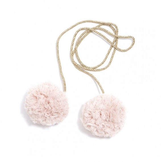 Mouche - Embrase Pompons...