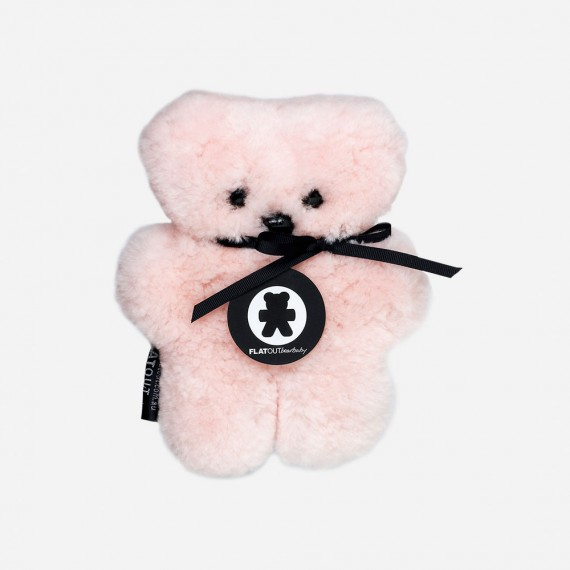Flatout Bear - Peluche Rose PM