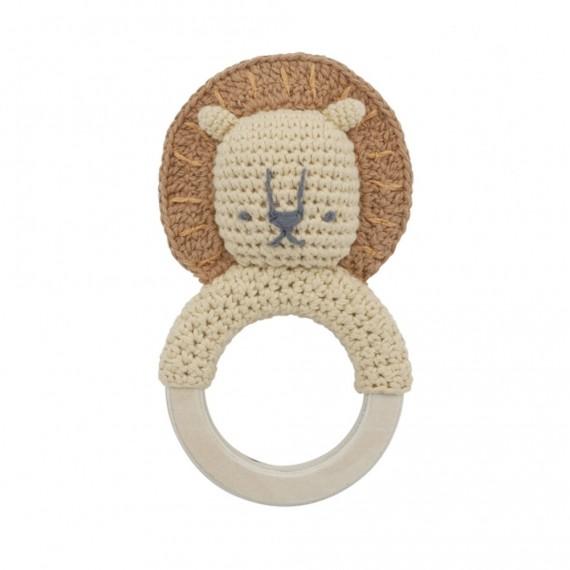 Sebra - Hochet crochet Lion