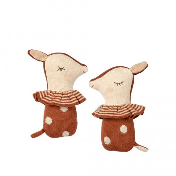 Maileg - Hochet Bambi rusty...