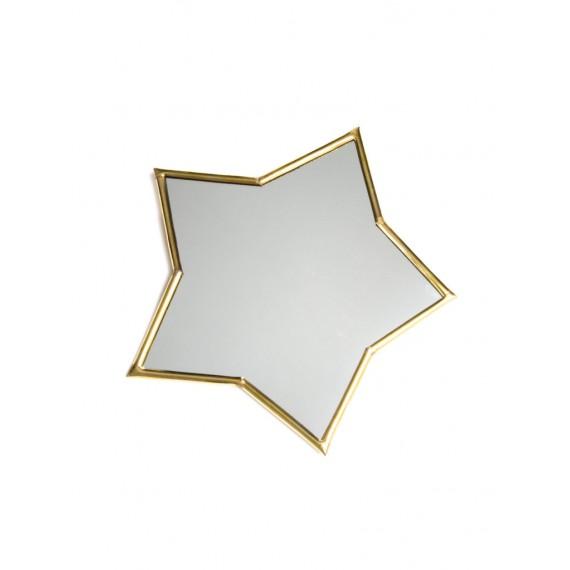 Maison Plune - Miroir étoile