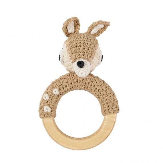 Sebra - Hochet crochet Bambi