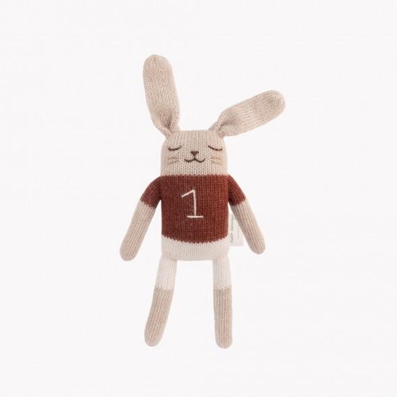 Main Sauvage - Doudou lapin...