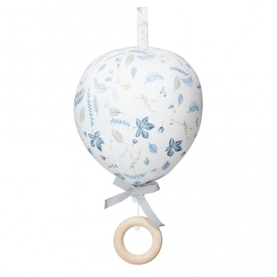 Cam Cam Copenhague - Mobile balloon music mobil pressed leaves blue