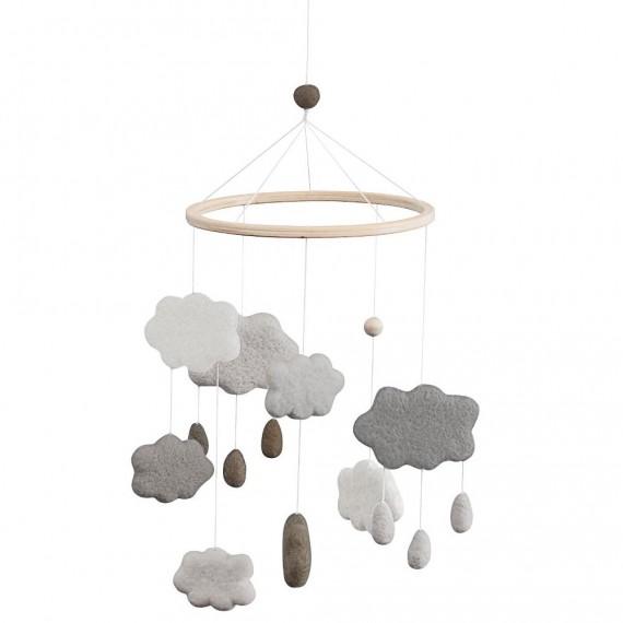 Sebra - Mobile nuages baby...