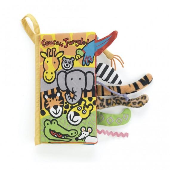 Jellycat - Coucou Jungle livre