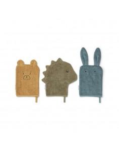 Liewood - Lot de 3 gants de...
