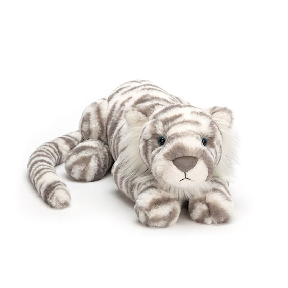 Jellycat - Sacha Snow Tiger